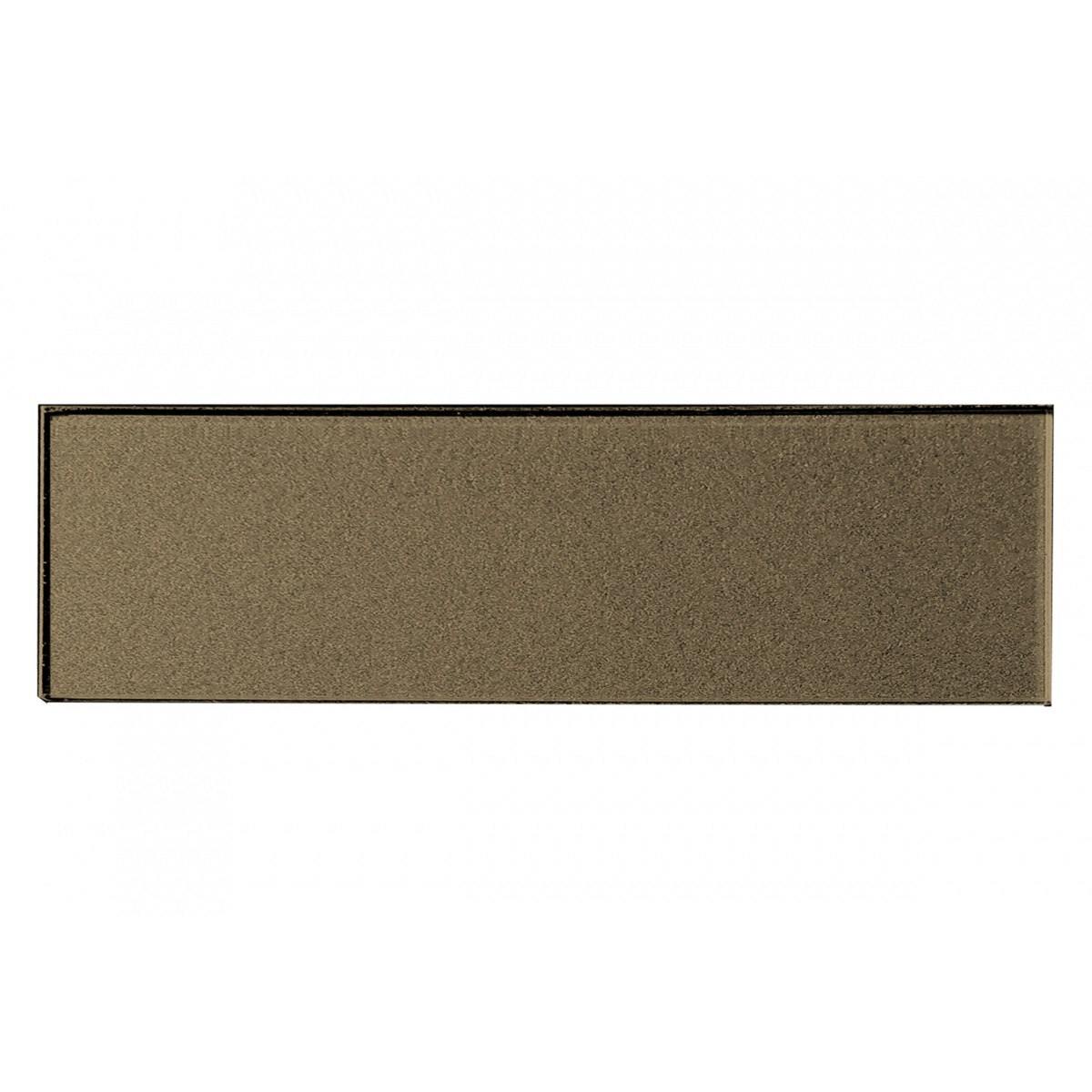 - Forever 3 In X 12 In Glass Subway Tile In ETERNAL BRONZE Glossy