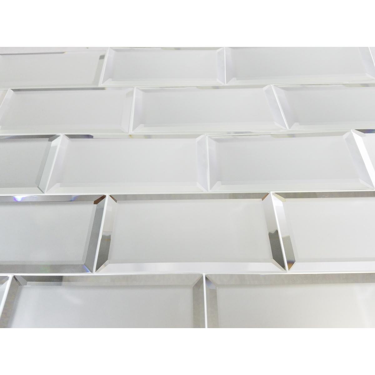3x6 Reflections Silver Matte 3 X 6 Subway Tile Shop By Shape