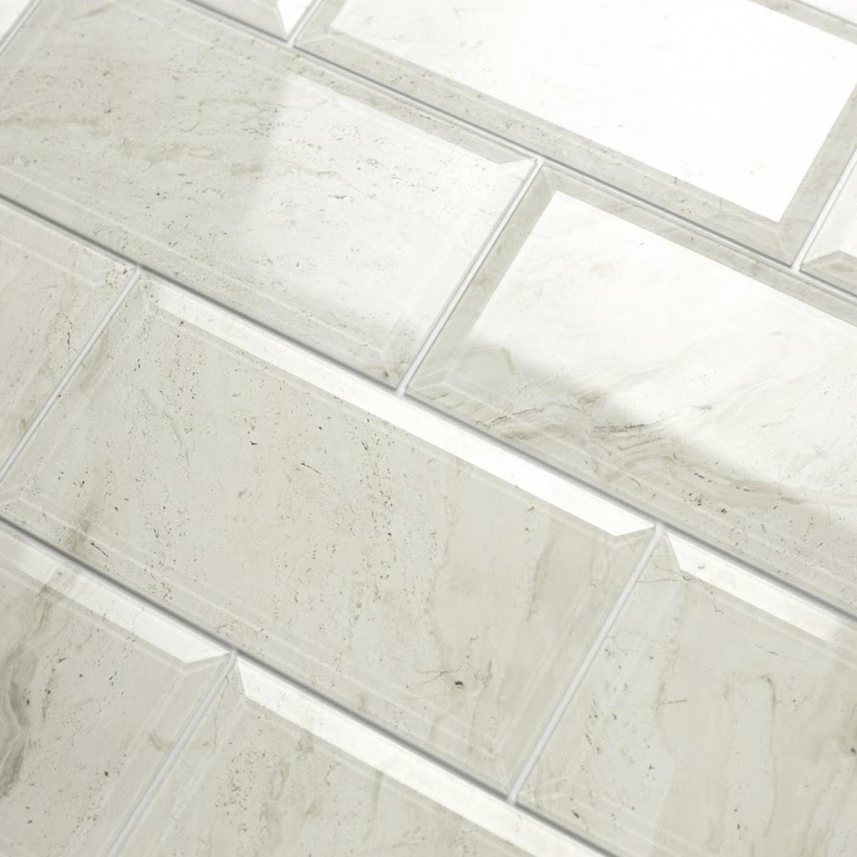 Gl Subway Tile In Crema Marfil