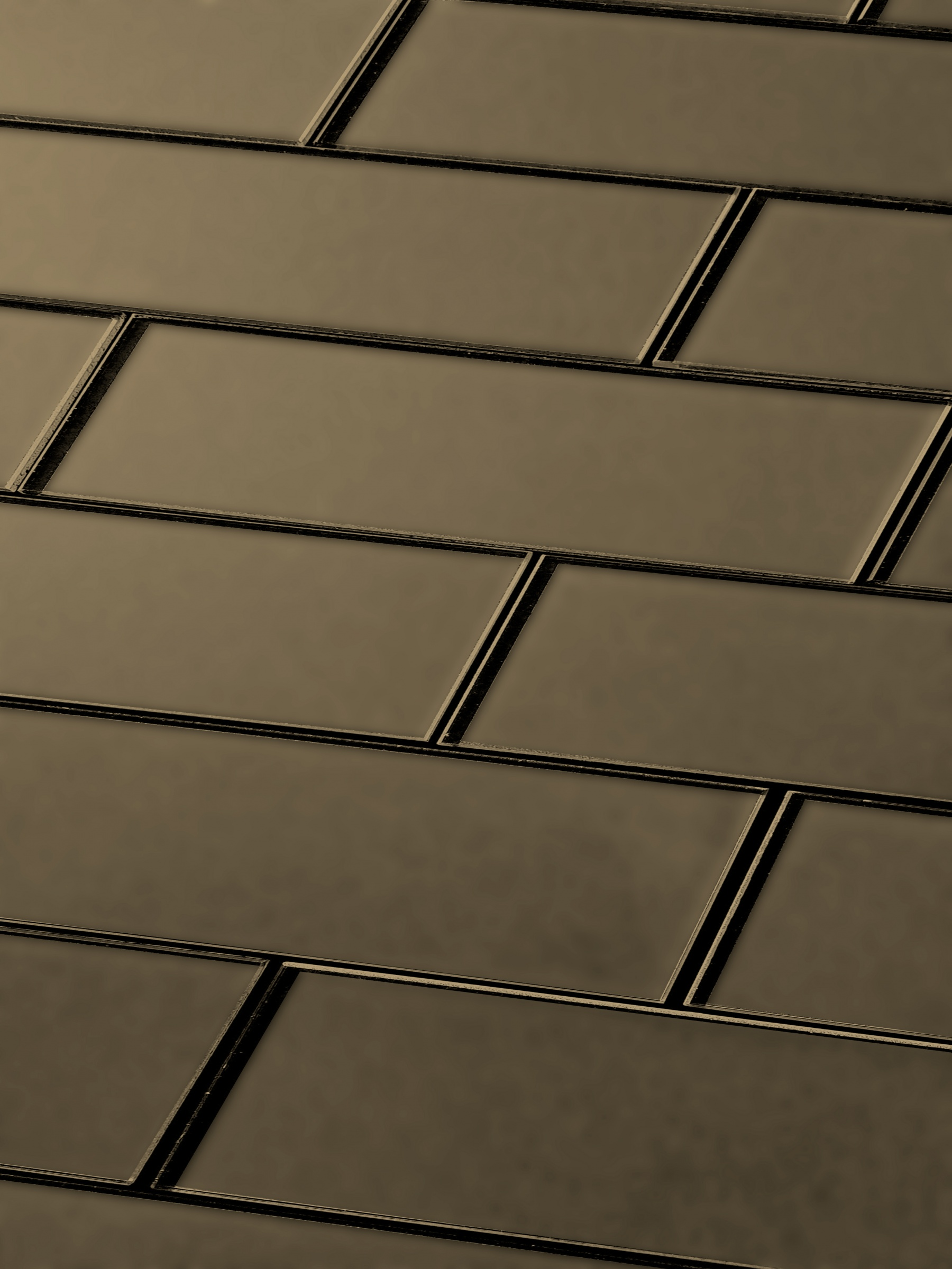 Forever 3 In X 12 In Glass Subway Tile In Eternal Bronze Matte