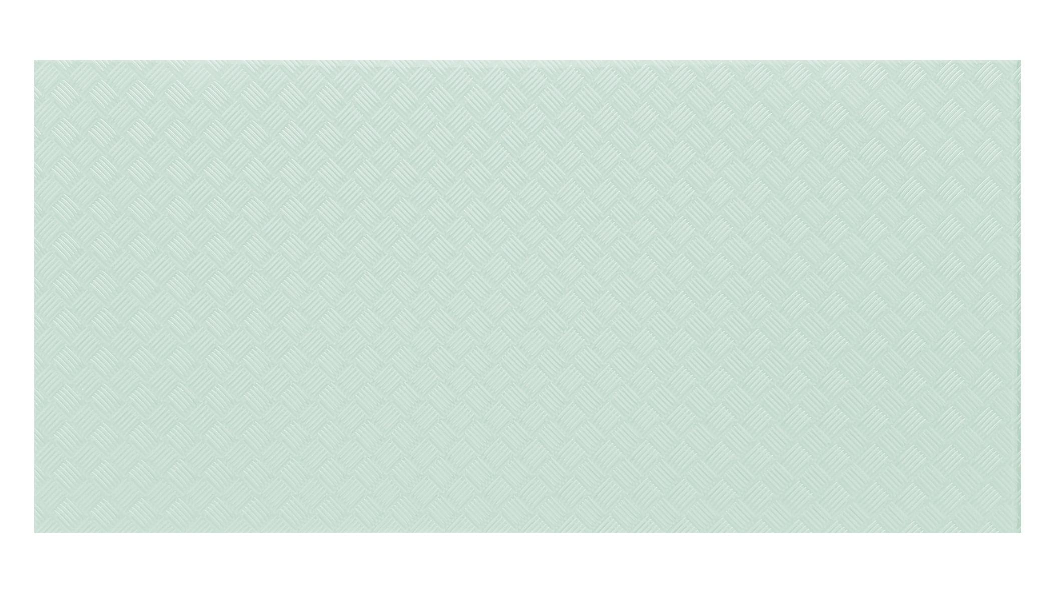 "Elements 12"" x 24"" Slip Resistant Aquamarine Glass Field Backsplash Wall & Floor Tile"