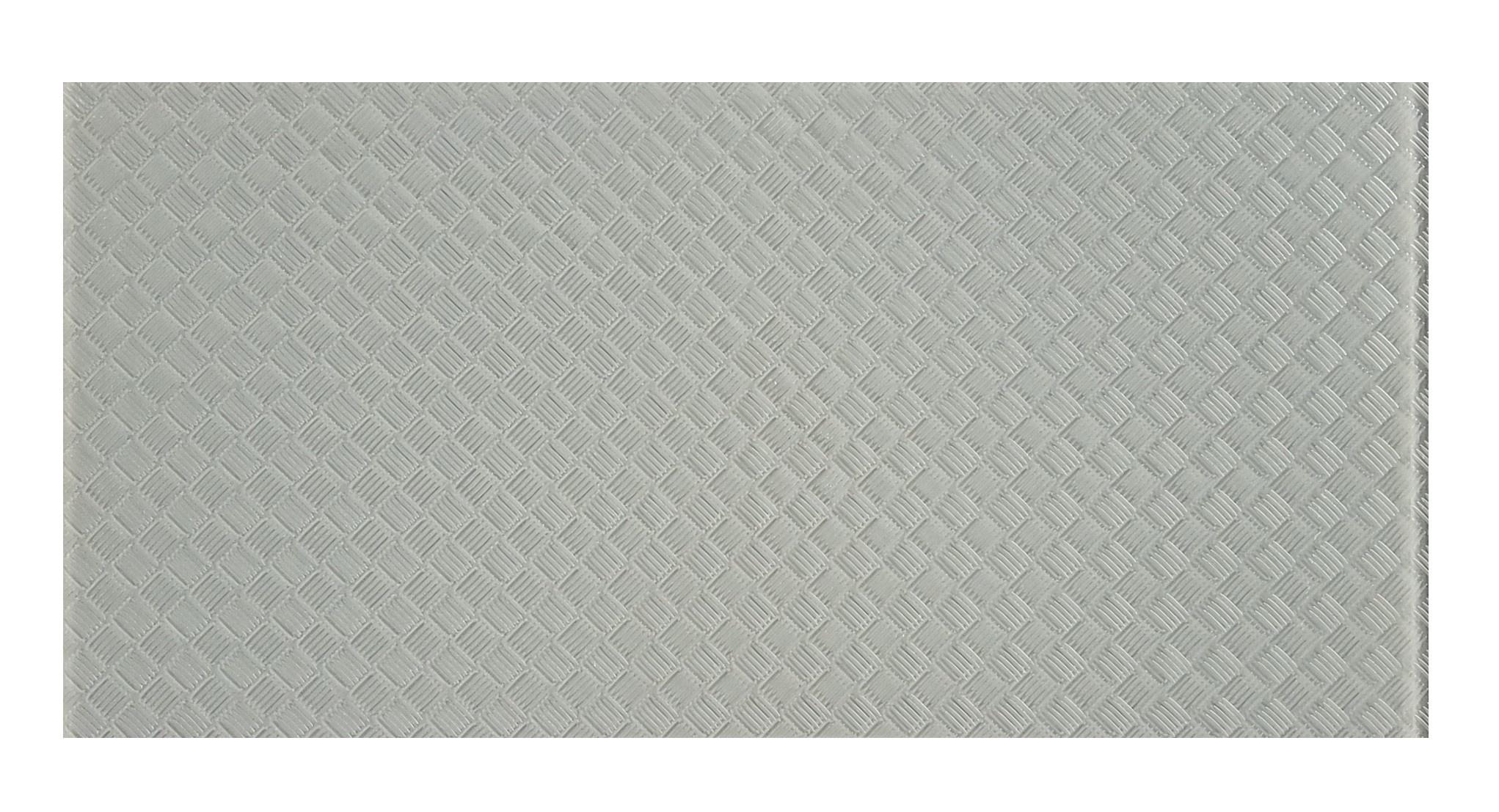 "Elements 12"" x 24"" Slip Resistant Light Gray Glass Field Backsplash Wall & Floor Tile"