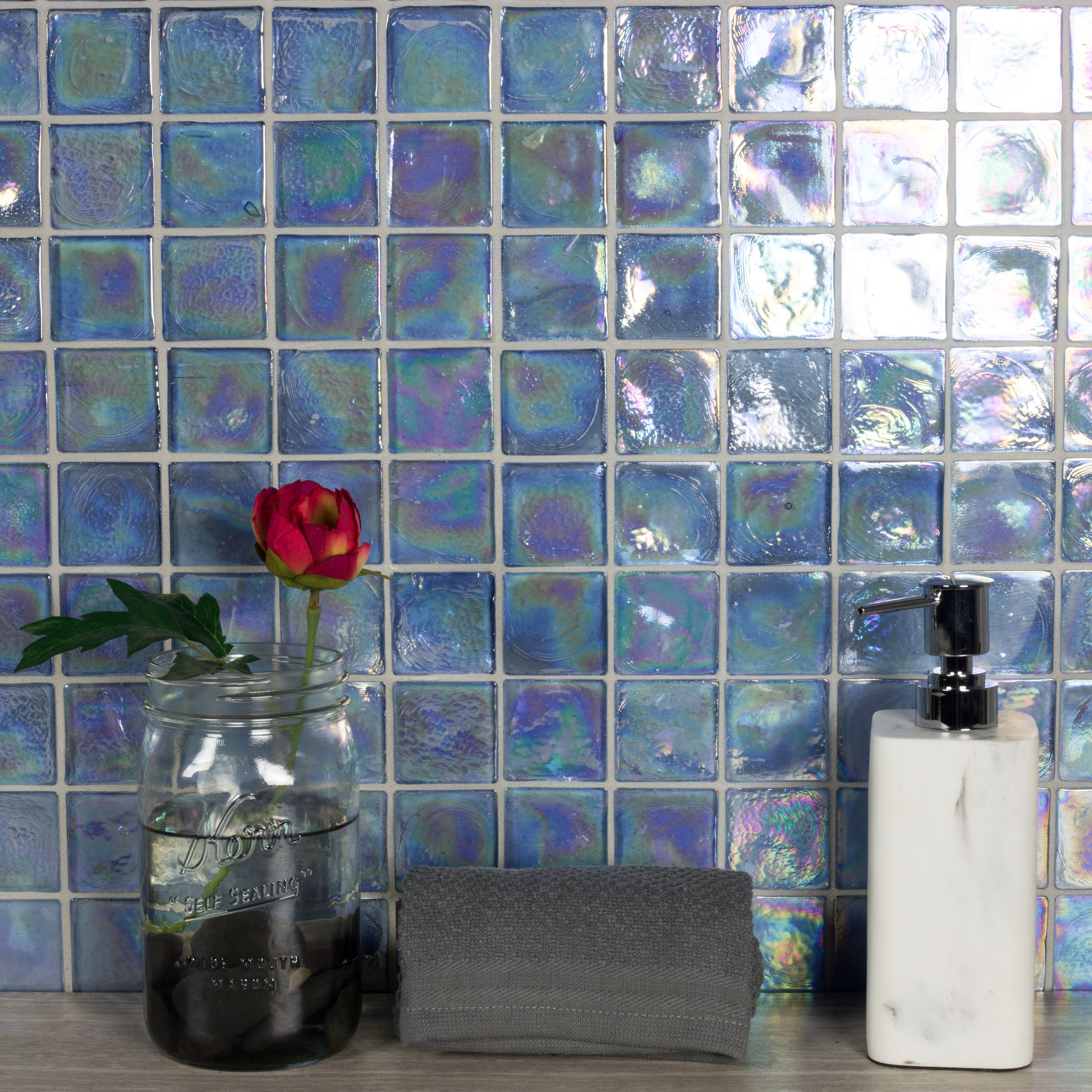Gl Loose Mosaic In Shire Glossy