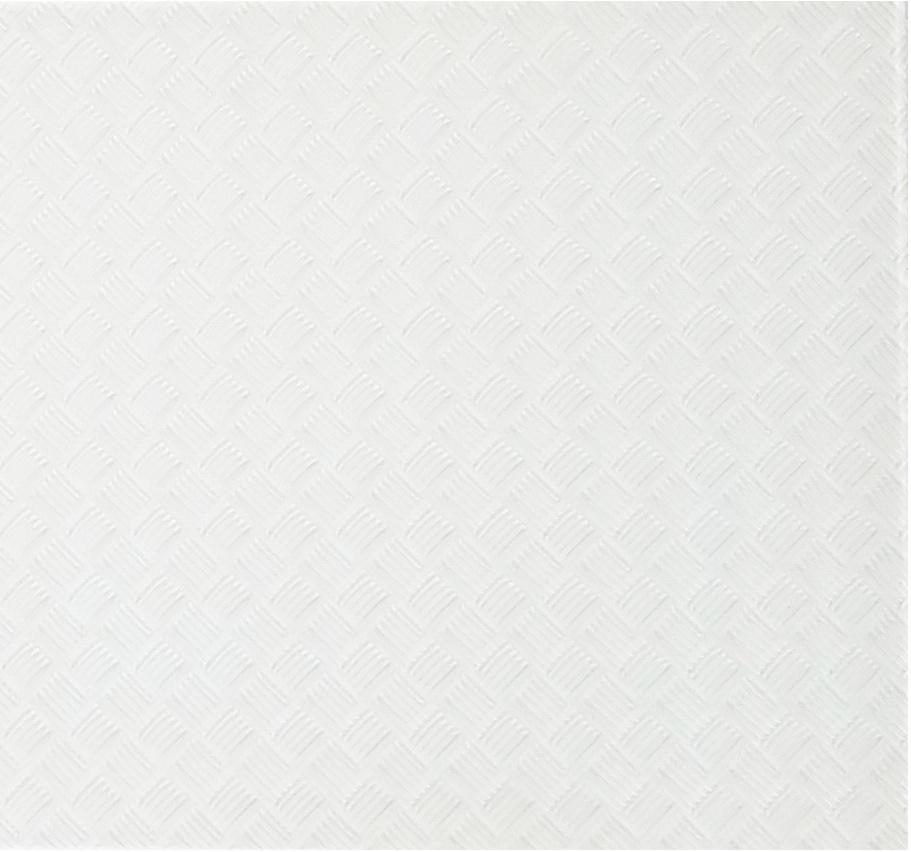 """Elements 12"""" x 12"""" Slip Resistant White Glass Field Backsplash Wall & Floor Tile"""