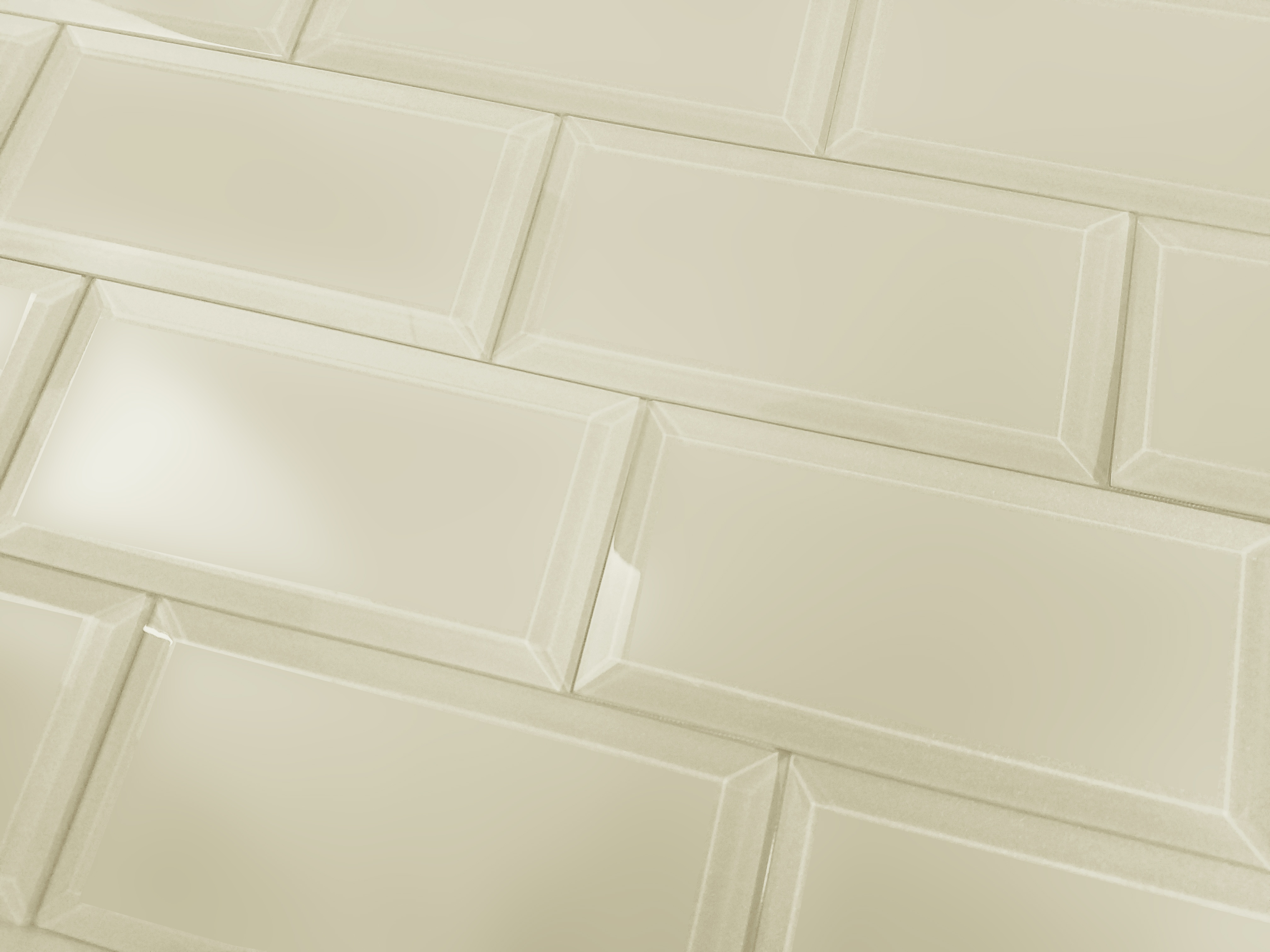 Frosted Elegance 3 In X 6 In Glass Subway Tile In Cecillia