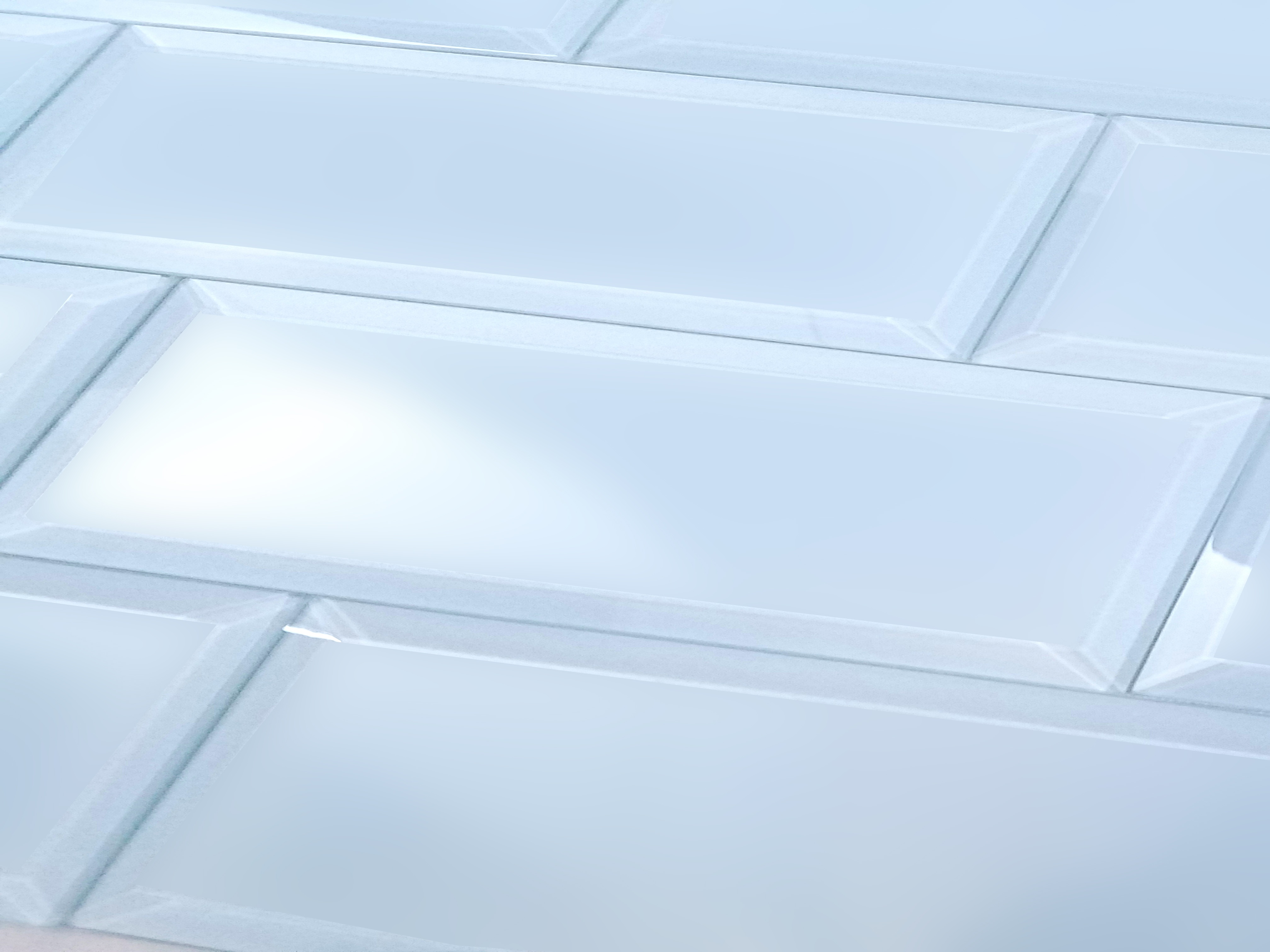 Frosted Elegance 3 In X 12 In Glass Subway Tile In