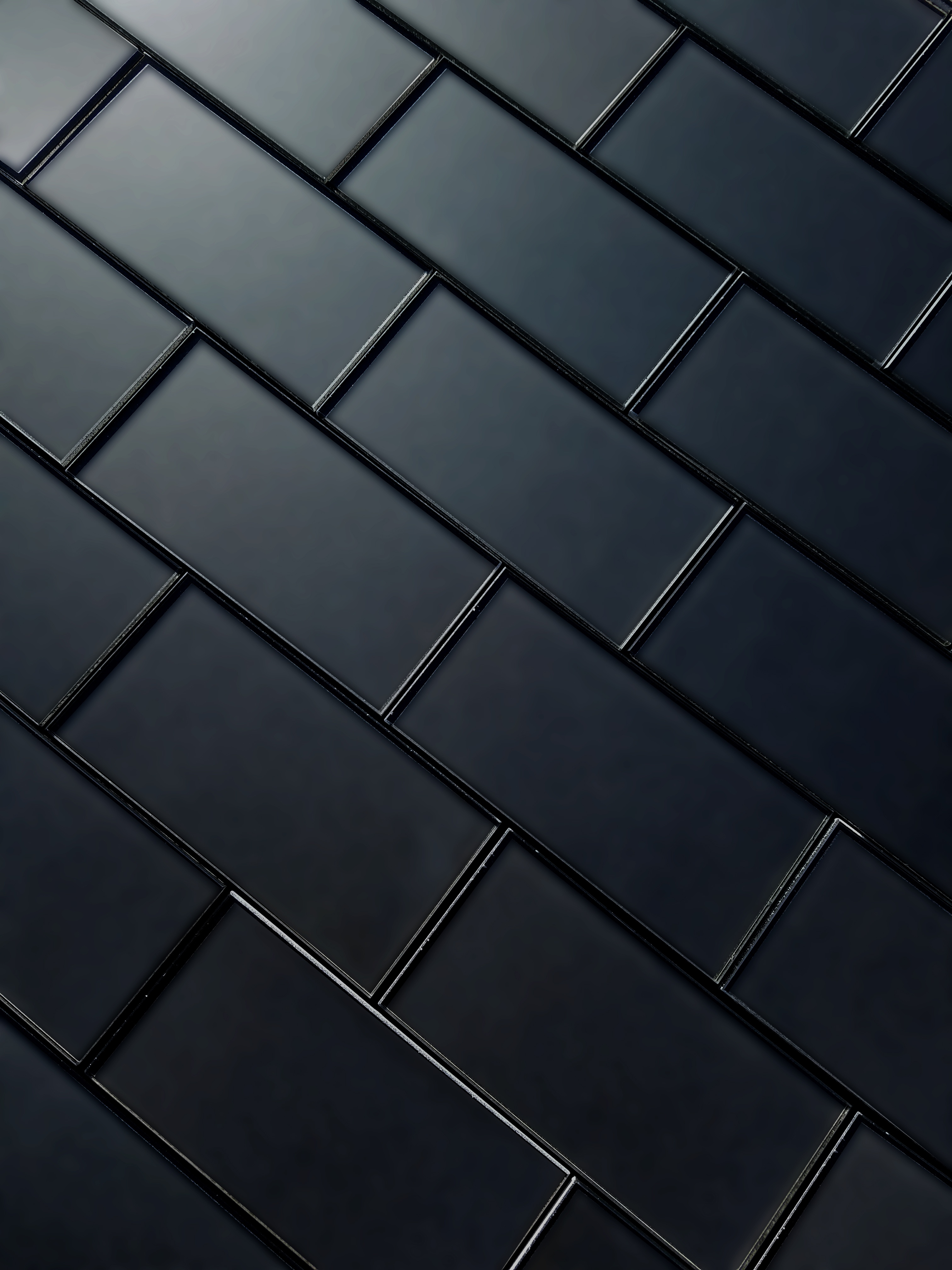 - Forever 3 In X 6 In Glass Subway Tile In ETERNAL ROYAL GRAY Matte