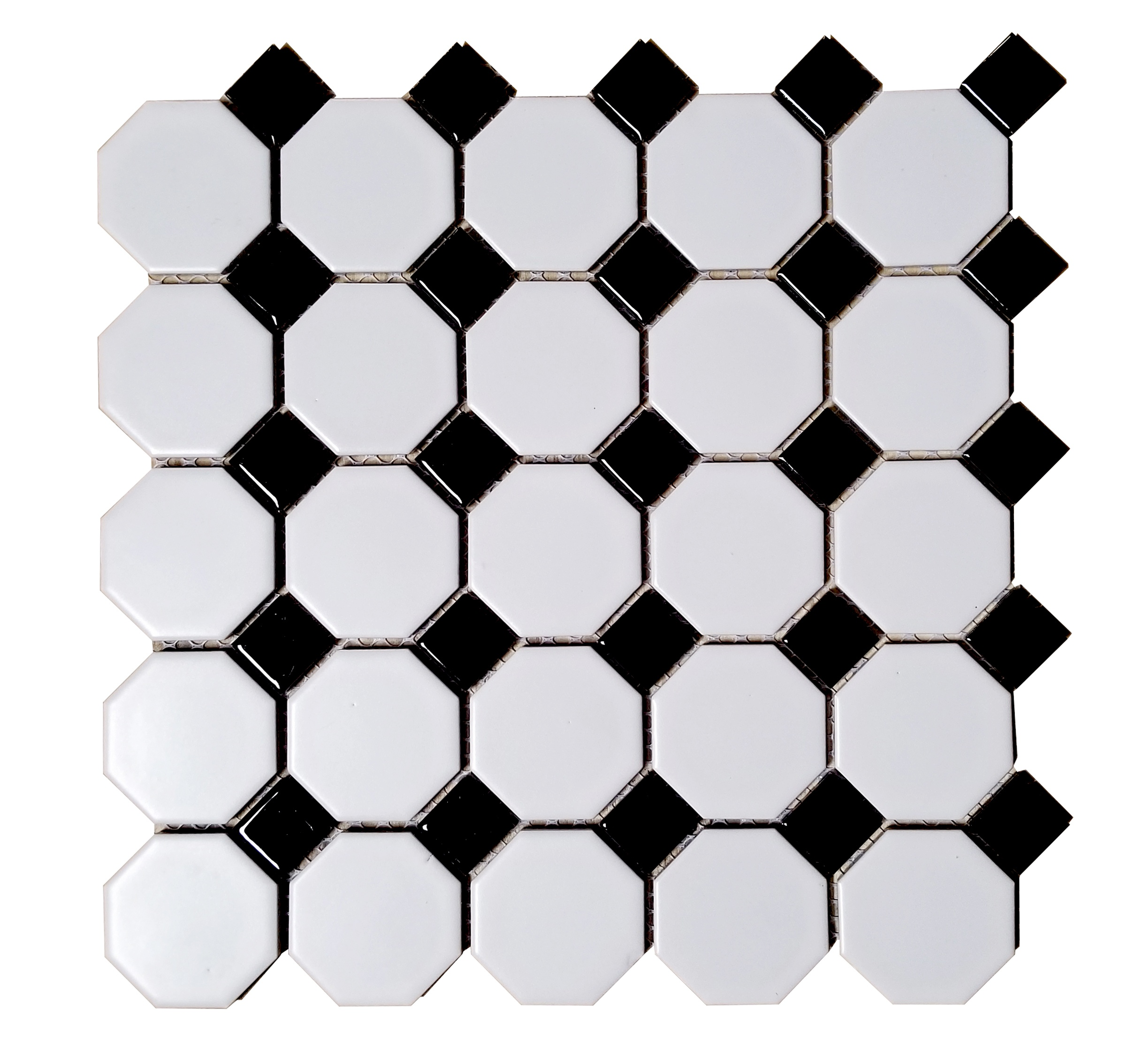 Monet Checkered Black and White 11.69\